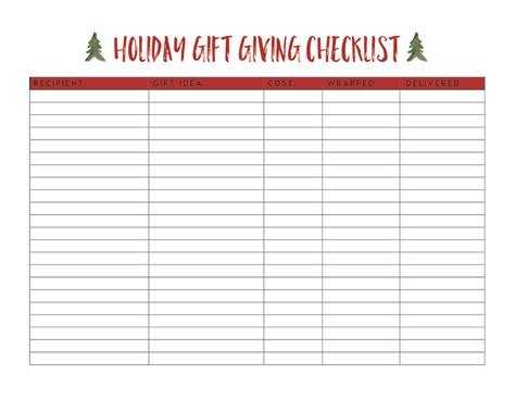 free december calendar holiday gift list and letter to santa
