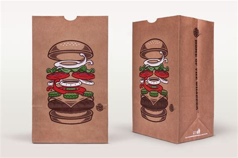Burger Bag by Burger King Global Packaging The Inspiration Room