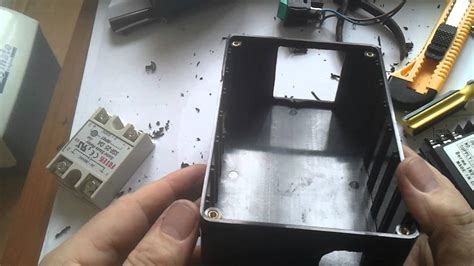 making accurate holes  electronics project boxes youtube