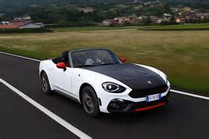 Fiat Abarth Spider Fiat 124 Abarth Spider 2017 Autoevolution