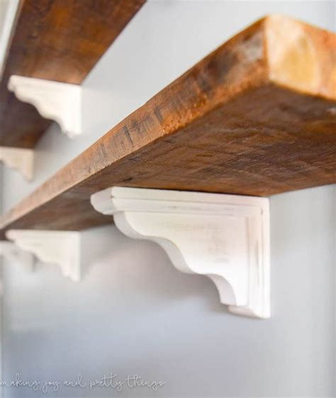 17 best ideas about reclaimed wood shelves on