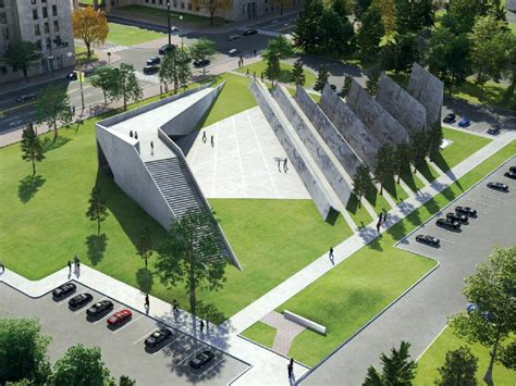 design concept memorial park winning design for victims of communism memorial features
