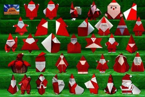 How To Fold Santa Claus Origami - origami santa claus gallery