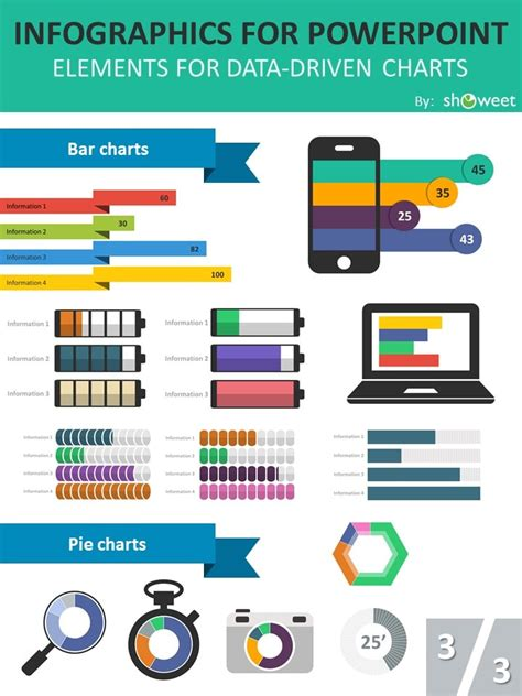 infographics template powerpoint charts infographics powerpoint templates