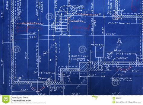 how to make a blueprint blueprint detail stock image image of dimension build 836253
