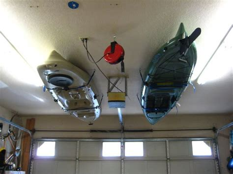 Kayak Racks For Garage Ceiling by 12 Best Kayak And Canoe Storage Images On