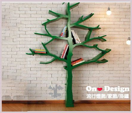 on design tree bookshelf 樹 書架shawn soh設計 複刻版 訂製款 on