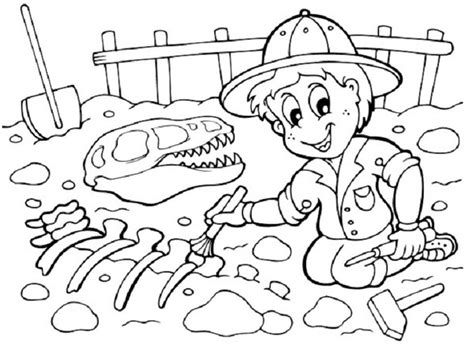 coloring pages of dinosaur fossils fossil coloring pages coloring pages