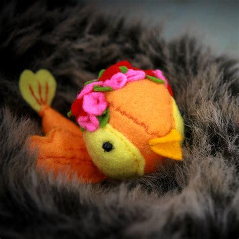 Diy Un Petit Oiseau En Feutrine Pop Couture