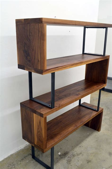 Wood And Metal Furniture by Best 25 Bookshelf Diy Ideas On Crate