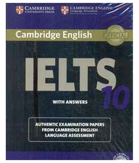 Cambridge Ielts 10 Students Book With Answers Audio Cd cambridge ielts 10 student s book with answers with audio cds paperback 2015 buy