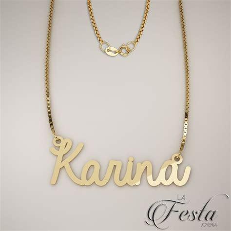cadenas de oro 14k con nombre tu nombre en dije de oro de 14k venta en linea www