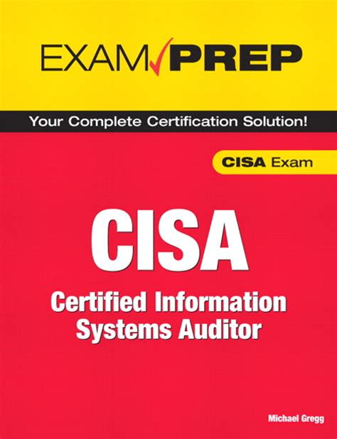 certified information systems auditor cisa cert guide certification guide books cisa prep certified information systems auditor