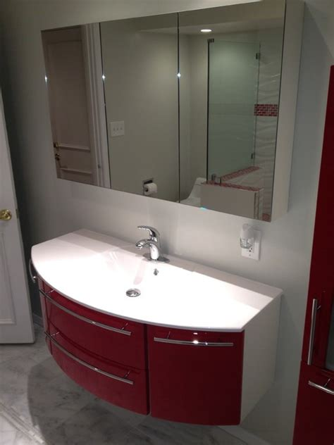bathroom vanities made in usa custom bathroom vanities by bauformat made in usa