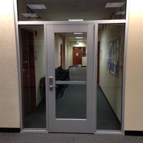 Commercial Interior Door With Window Commercial Door Metal Systems Inc Chino California Building Materials Bullet Resistant