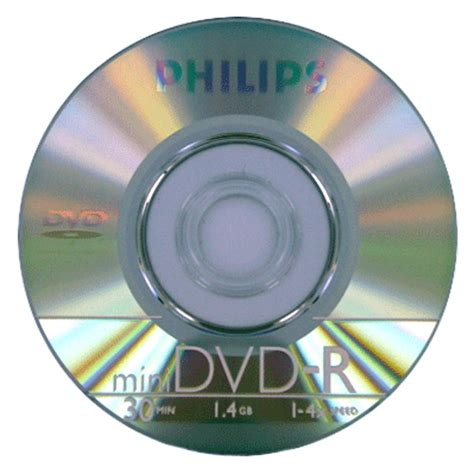 60 Philips Mini DVD R 4X 1.4GB/8cm Logo On Top Disc   eBay