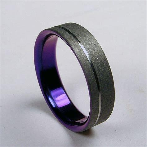 black titanium wedding rings for titanium wedding