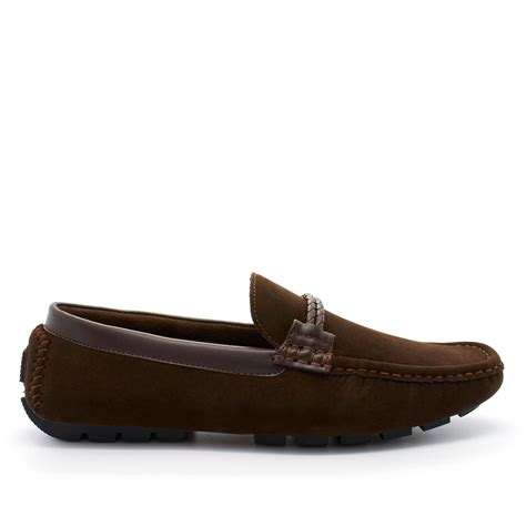italian suede loafers mens moccasin casual italian loafers driving shoes size