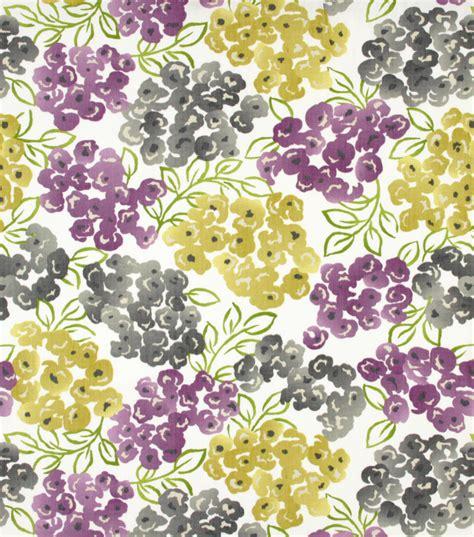 home decor fabric richloom lumen amethyst at joann com home decor print fabric robert allen at home best floral