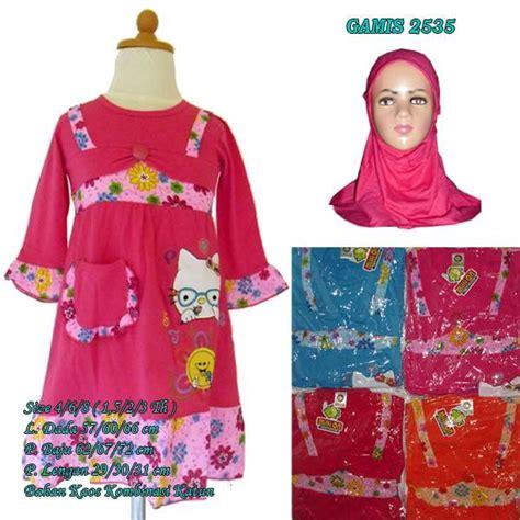 Baju Gamis Size baju gamis anak motif bunga 2535 size 4 hanya rp 45 000 00
