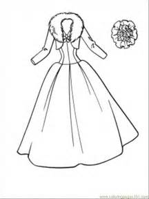 dress coloring pages free wedding coloring pages coloring home