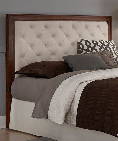tufted leather headboards home styles off white leather button tufted headboard