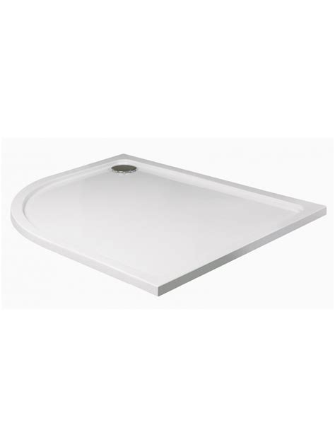 Slimline Shower Tray 1200 X 800 slimline 1200 x 800 offset quadrant shower tray lh