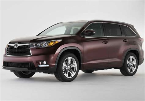 2014 toyota highlander weight 2014 toyota highlander review specs pictures mpg price