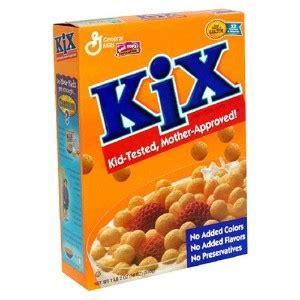 Mills Kicks Some by Kix Cereal Lifeonthecutoff S