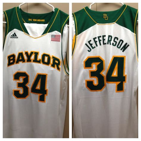 new jersey design university baylor releases pictures of their new uniforms photos