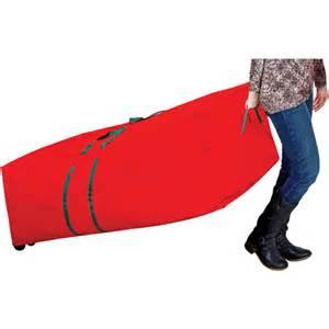 simplify christmas tree storage bag with wheels walmart com