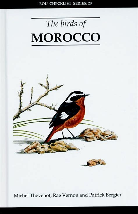 the birds books the birds of morocco 0907446256 9780907446255 nhbs