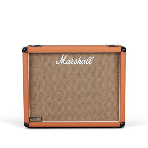 marshall 1936 2x12 cabinet marshall 1936 2x12 quot guitar speaker cab orange at