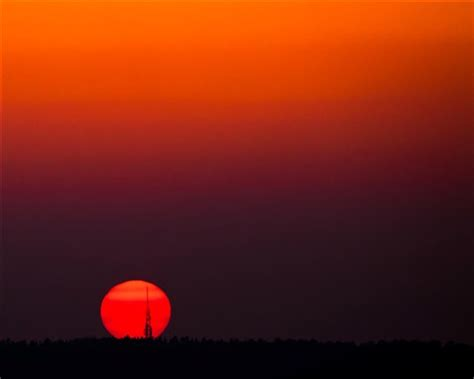 red sunset: millsjc: galleries: digital photography review