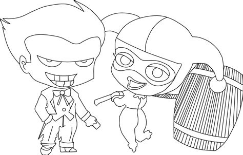 Harley Quinn And Joker Coloring Pages | harley quinn coloring pages best coloring pages for kids