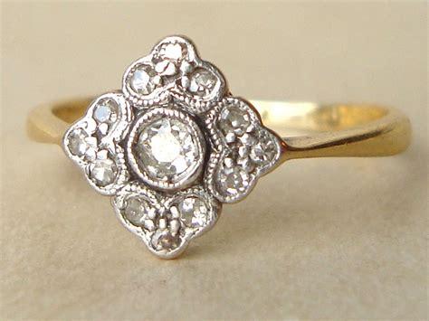 antique engagement rings 1920s the antique engagement