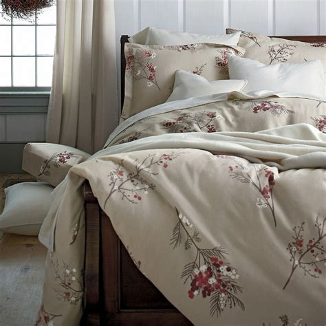 company store comforter pineberry flannel sheets bedding the company store