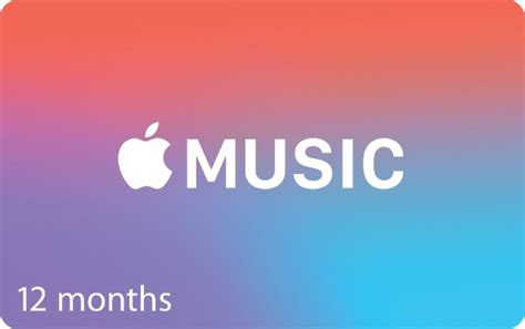 Apple Music Gift Card Uk - one year apple music membership gift cards now available for 99 8 25 per month