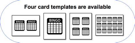 Bingo Card Template Png by Print Bingo Cards Bingo Card Generator