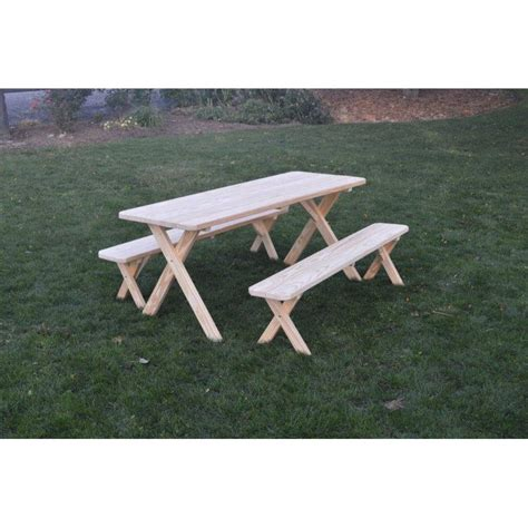 pine picnic bench pressure treated pine picnic table