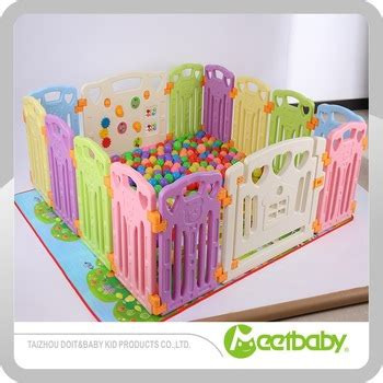 colorful safety plastic baby playpen baby play yard