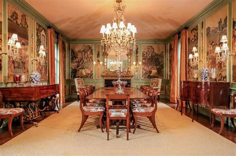 dining room historic manor house  newport ri hgtv