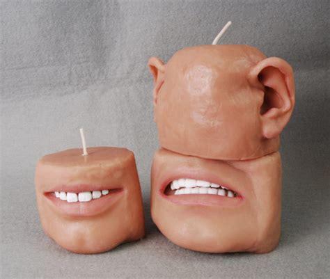 candele orecchie raccapriccianti candele profumate sembrano realistiche