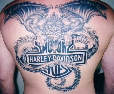 funny harley davidson motorcycle tattoo design tattoo