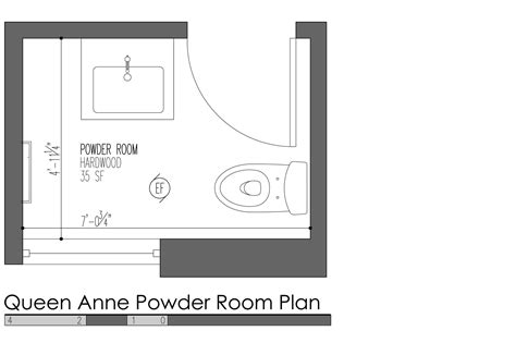 powder room layout build llc queen anne plan 02