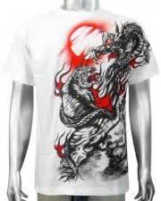 T Shirt Lba Bikers Tiger Cruiser by Biker Rock Mens T Shirts