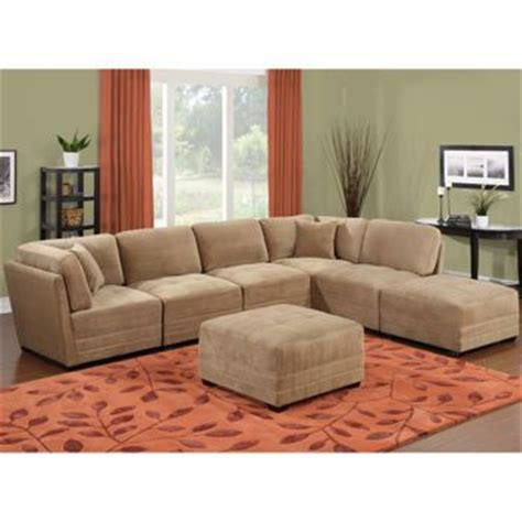 canby fabric 7 modular sectional 999 costco by