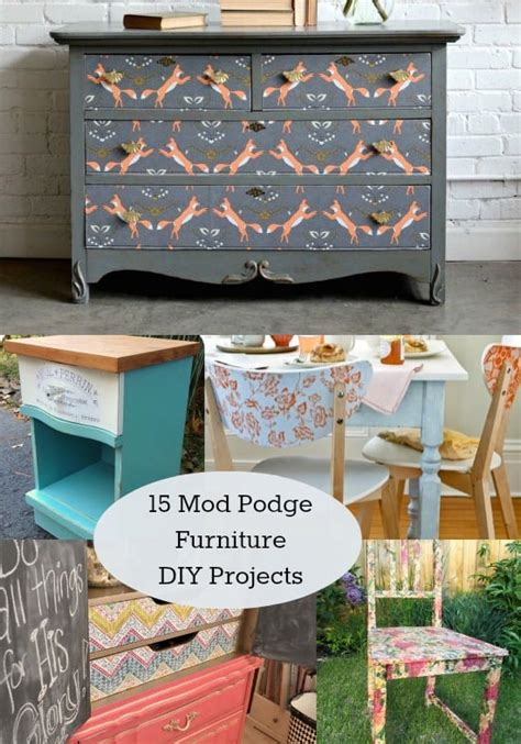 How To Decoupage Furniture With Mod Podge - how to prep furniture for decoupage mod podge rocks
