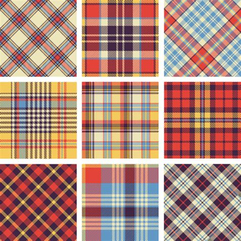 fabric pattern in vector free plaid vector free vector download 146 free vector