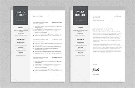 impressive resume templates word 60 awesome resume cv templates 2018 word indesign psd